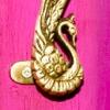 インド雑貨(3)真鍮ドア・ハンドル/パインズクラブ